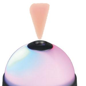 Projekční budík měnící barvy