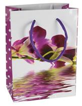 Dárková taška - Orchideje tmavé
