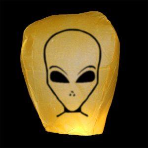Lampion přání UFO