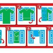 Deska na rychloskládání oblečení