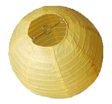 Závěsný lampion - koule