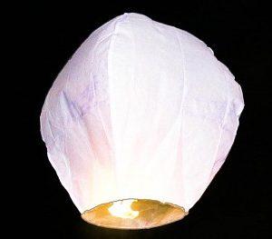 Lampion přání - čepice