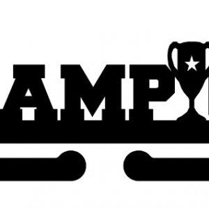 Věšák na medaile - Champion