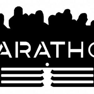 Věšák na medaile - maraton
