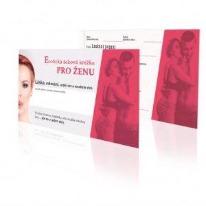 Erotická šeková knížka pro ŽENU